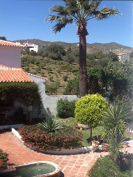 photo of Spanish patio in Benajarafe