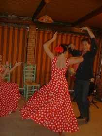 Relaxing with flamenco of Andalucia