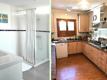 Photo of Bathroom and Kitchen